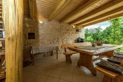 Villa de style avec piscine à Pazin