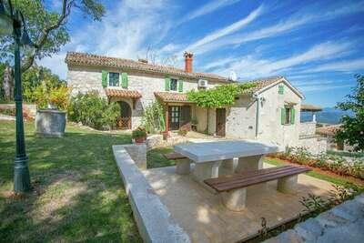 Charmante villa avec piscine à Vižinada, Croatie