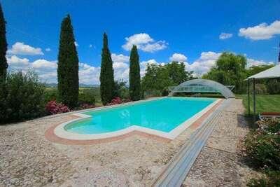 Villa Fiorella Cinque, Location Villa à San Venanzo - Photo 2 / 28
