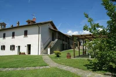 Superbe appartement à Città di Castello avec terrasse privée