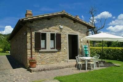 Maison de vacances spacieuse, campagne de Città di Castello