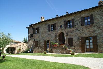Gîte indépendant sur les collines de Montone Umbria