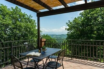Ferme rustique avec terrasse à Fratticiola Selvatica