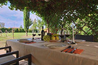 Bel appartement à Foligno Ombrie avec jardin potager