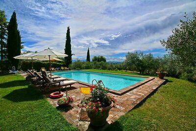 Charmante ferme avec piscine à Todi