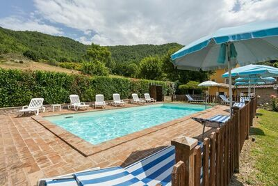 Maison de vacances à Assise avec piscine