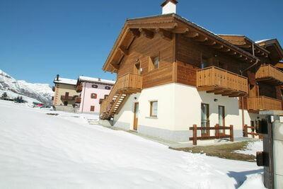 Maison de vacances calme à Livigno, Italie près des pistes