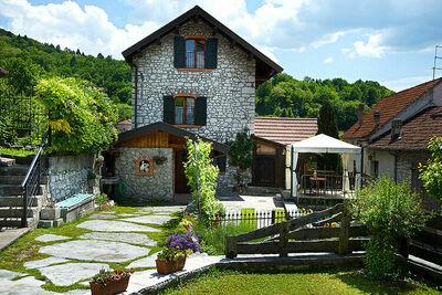Gîte indépendant à Ponte Nelle Alpi avec jardin privé
