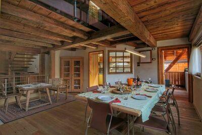 Cottage moderne avec jardin à Predazzo en Italie