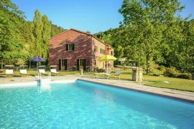 Villa cosy en Toscane Tredozio avec des vues époustouflantes