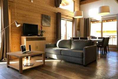 Appartement typique sur le domaine skiable du Grand Massif