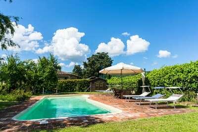 Maison de vacances cosy à    Greve in Chianti, avec piscine