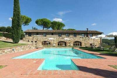 Gîte accueillant avec piscine en Toscane