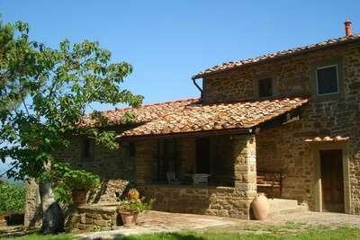Maison de vacances rurale à Borgo San Lorenzo. Jardin privé