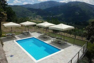Appartement classique dans un vignoble en Toscane