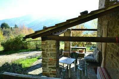 Maison de vacances avec piscine à San Marcello Pistoiese