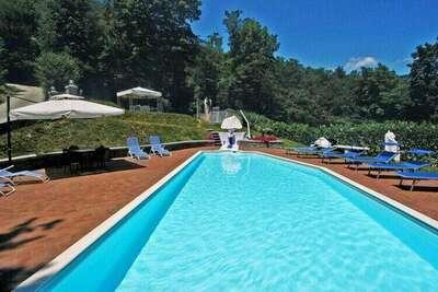 Magnifique villa à Pistoia avec jacuzzi et piscine