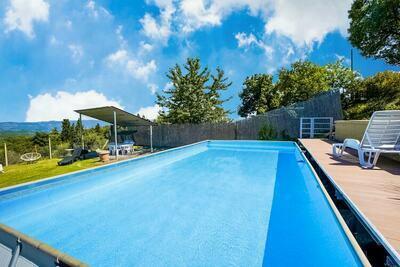 Villa exotique à Pieve San Giovanni avec piscine