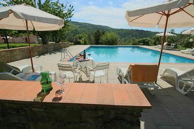 Ferme accueillante avec piscine en Toscane
