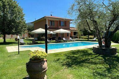 Une villa confortable située dans les collines de Toscane