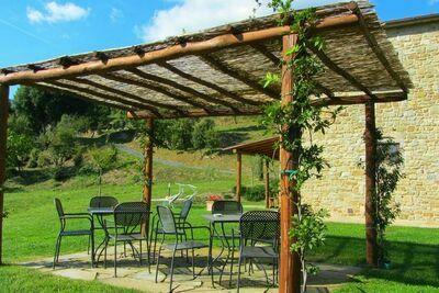Maison de vacances moderne avec piscine à Anghiari