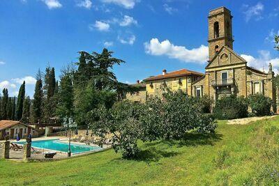 Maison de vacances avec piscine privée à Ciggiano en Italie