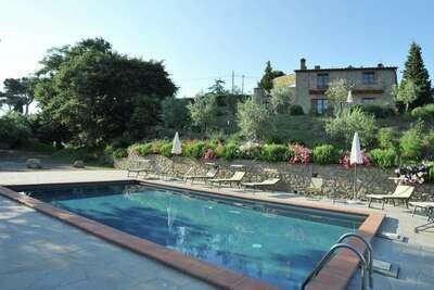 Villa avec piscine située à Lisciano Niccone