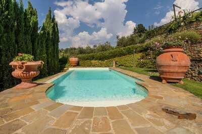 Villa luxueuse à Cortona, avec piscine