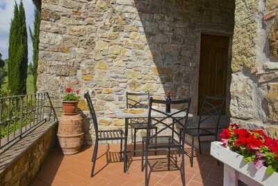 Ferme de charme à Radda In Chianti avec piscine
