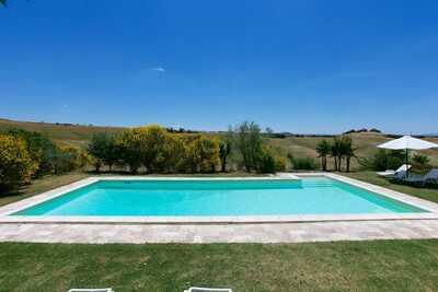 Ferme à Castelnuovo Berardenga Toscane avec Jardin