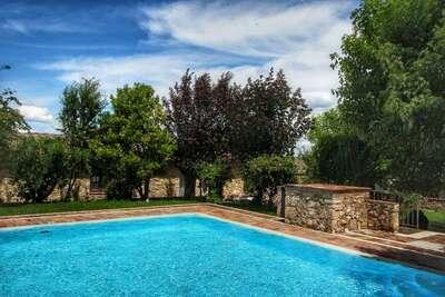 Maison de vacances en Toscane avec piscine
