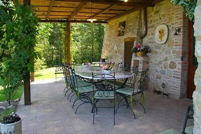 Villa de charme à Cetona avec piscine
