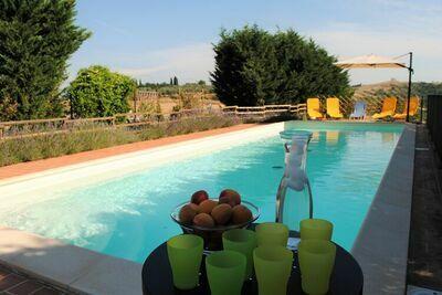 Villa de charme à Asciano avec piscine