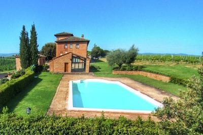 Ferme paisible à Montepulciano avec piscine