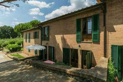 Villa spacieuse avec Piscine à Sienne en Italie
