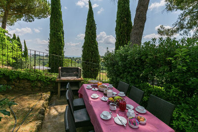 Maison de vacances moderne avec piscine à Sienne en Italie