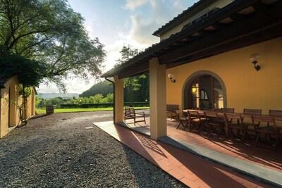 Belle villa à Capannoli, avec piscine