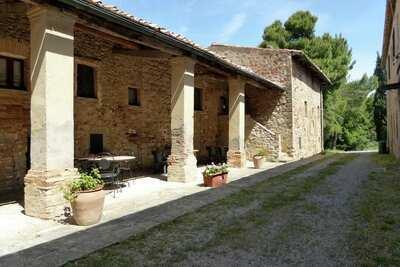 Maison de vacances adaptée aux enfants avec piscine Volterra