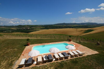 Une maison de vacances pour 6 personnes à Bucine en Toscane