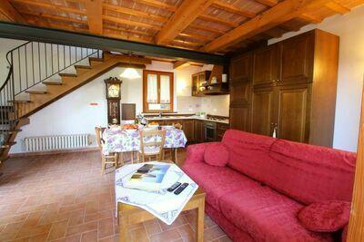 Ferme chaleureuse dans les collines, proche mer Adriatique