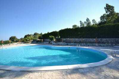 Maison de vacances adaptée aux enfants, Mattinata, piscine