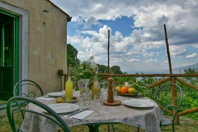 Ferme avec vue panoramique sur la mer à Sant'Agnello