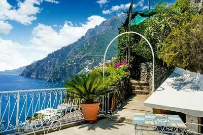 Magnifique maison de vacances avec vue sur la mer à Positano