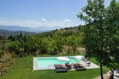 Maison de vacances avec piscine située à Santa Lucia