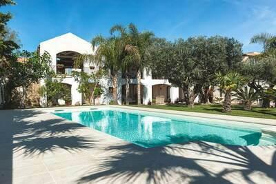 Maison de vacances avec piscine à Marsala