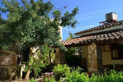 Maison de vacances couverte en Sicile avec terrasse privée