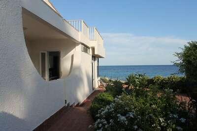 Maison de vacances cosy à Fontane Bianche sur la plage