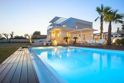 Villa de charme face à la mer en Sicile, Italie