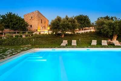 Villa spacieuse à Scicli Italie avec jacuzzi