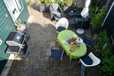 Confortable maison de vacances à Edam, avec cour clôturée